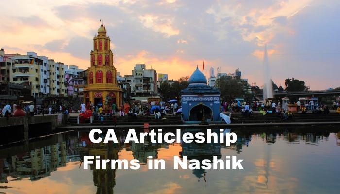 CA Articleship Firms Nashik