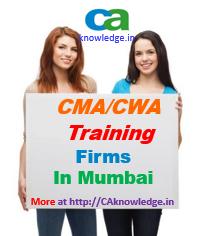 CWA Training Firms in Mumbai