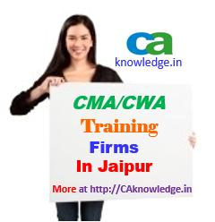 CWA Training Firms in Jaipur
