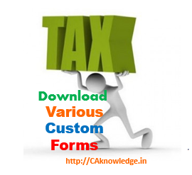Custom Forms CAknowledge.in