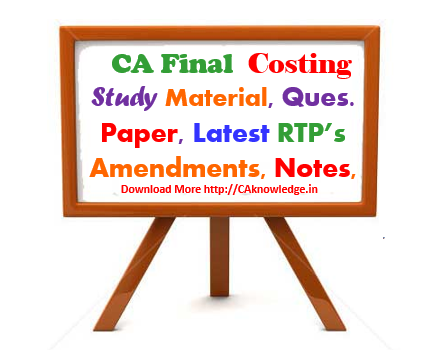 CA Final AMA Latest Notes, Study Material CAknowledge.in