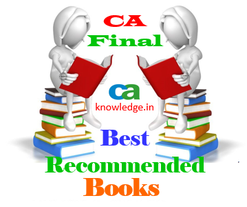 CA Final Books May 2015