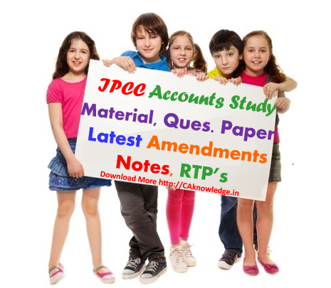 IPCC Accounts Latest Notes Amendments CAknowledge.in