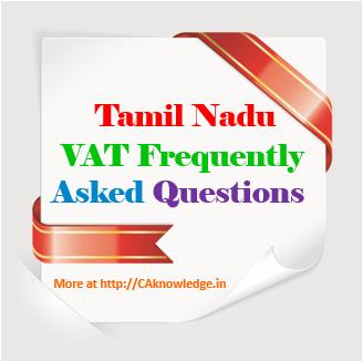 TN Vat FAQ CAknowledge.in