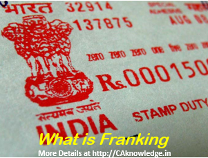 What is Franking