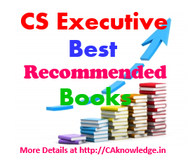 CS Executive Best Recommended Books