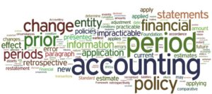 Disclosure of accounting polocies