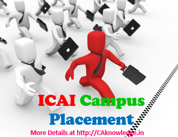 ICAI Campus Placement and Salary of CA's