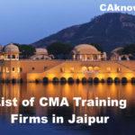 CMA Firms in Jaipur