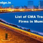 Top CMA Firms in Mumbai