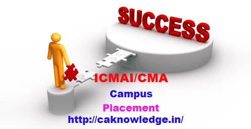 CMA Campus Placement
