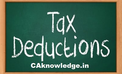 Chapter VIA List of All Deductions at a Glance