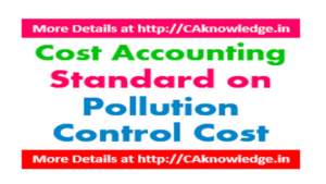 Cost Accounting Standard