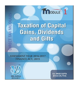 CA Final Direct Tax Book By Vinod Gupta For May 2016