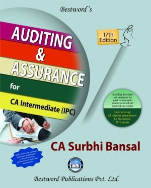CA IPCC Audit Book By Surbhi Bansal For Nov 2016 Exams