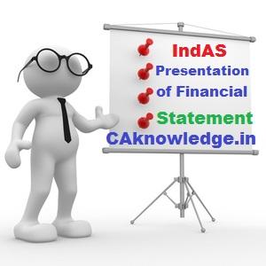 IndAS 1 Presentation of Financial Statement