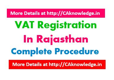 VAT Registration in Rajasthan CAknowledge