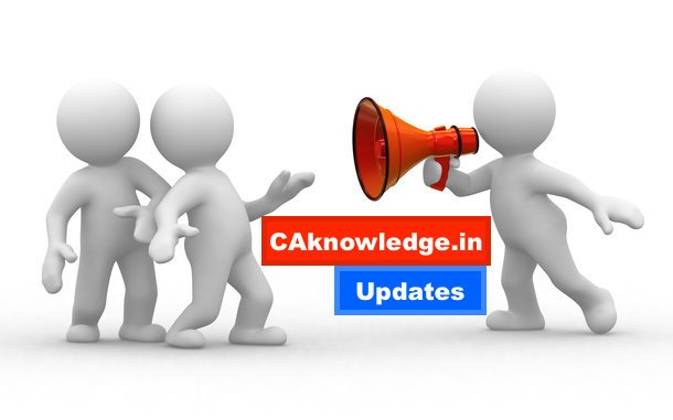 CAknowledge.in Updates