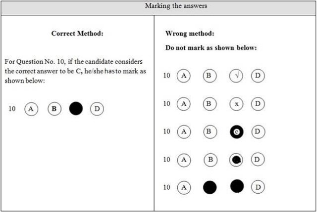 omr sheet for 100 questions with 4 options pdf