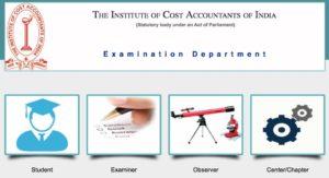 CMA Final Exam Form, CMA Inter Exam Form