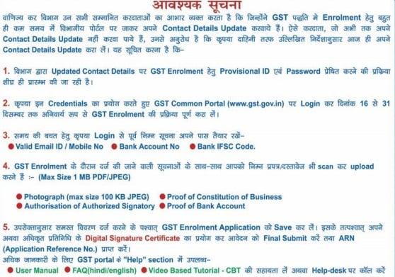 GST Registration in Uttarakhand