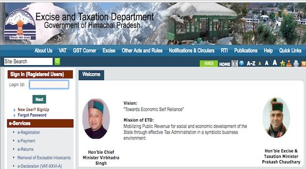 GST Registration in Himachal Pradesh