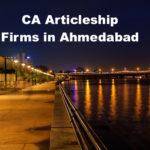 CA Articleship Firms Ahmedabad