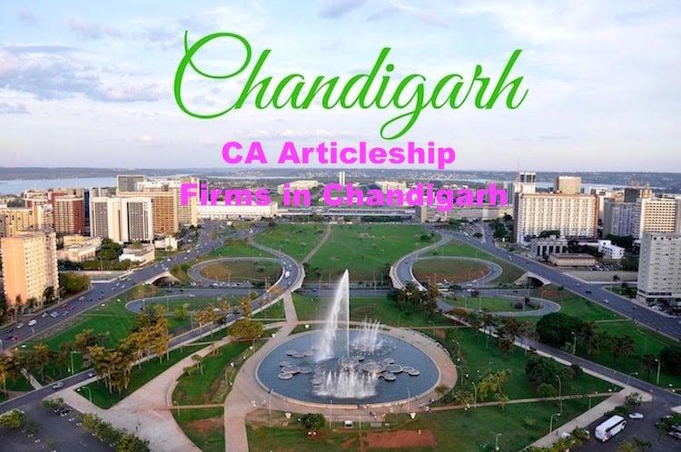 CA Articleship Firms Chandigarh