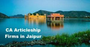 CA Articleship Firms Jaipur