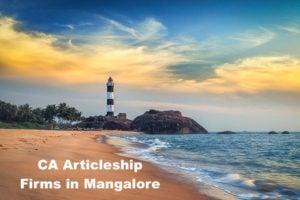 CA Articleship Firms Mangalore