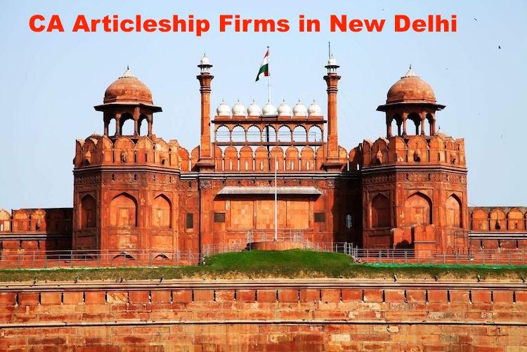 CA Articleship Firms New Delhi