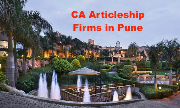 CA Articleship Firms Pune