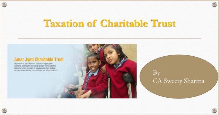 Taxation of Charitable Trust