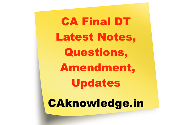 Ca final forex notes