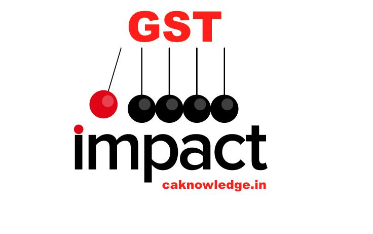 GST Impact Study