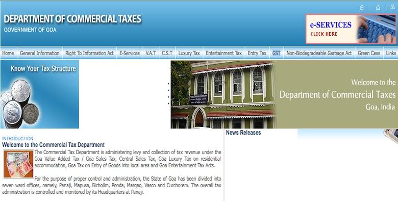 GST Registration Procedure for Existing Goa VAT Dealers