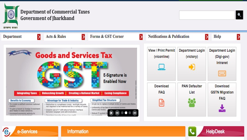 GST Registration in Jharkhand