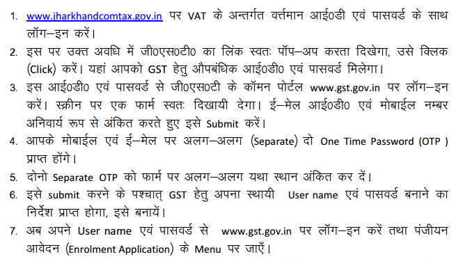 How to get Provisional ID & Password