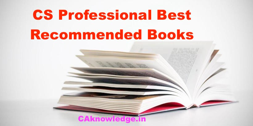 CS Professional Best Recommended Books