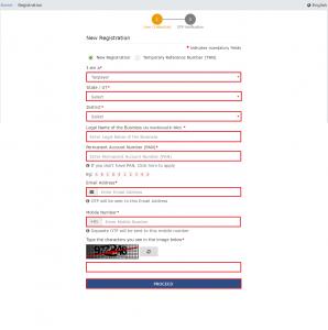 GST New Registration Procedure
