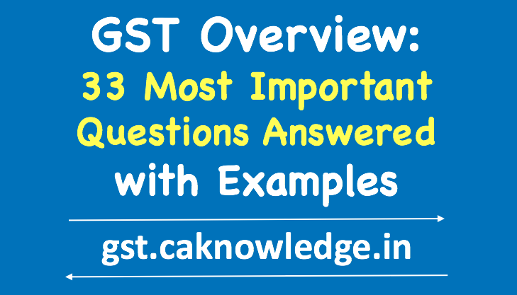 GST Overview New