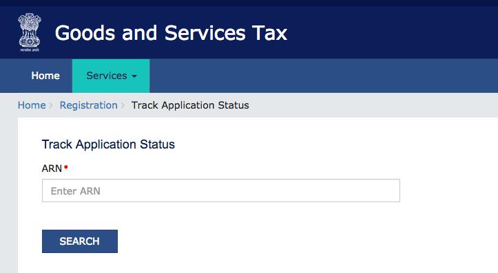 GST Registration Status, GST ARN Status