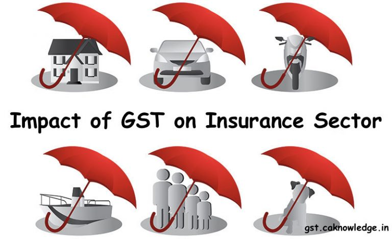 Impact of GST on Insurance Sector