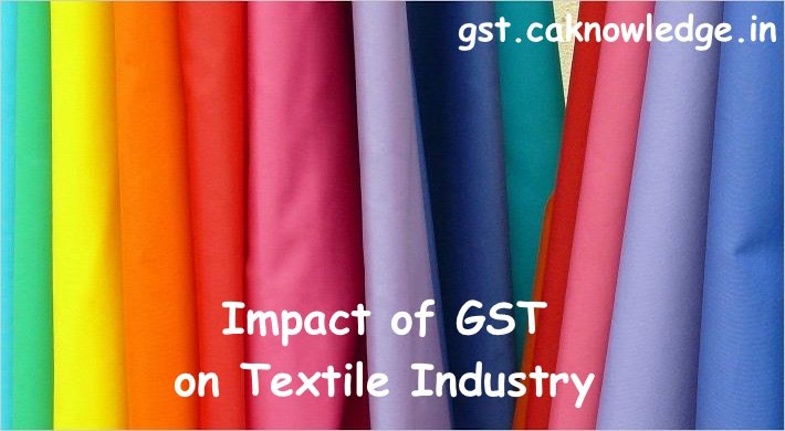 Textile Industry in GST