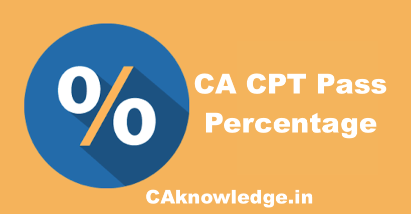 CA CPT Pass Percentage