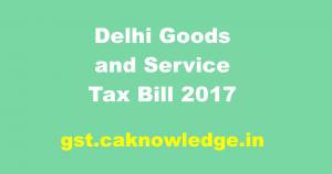 Delhi GST Act
