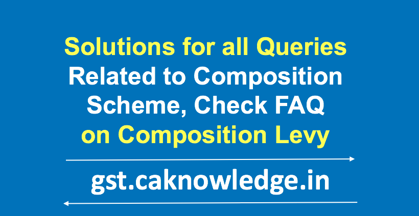 FAQ on Composition Levy