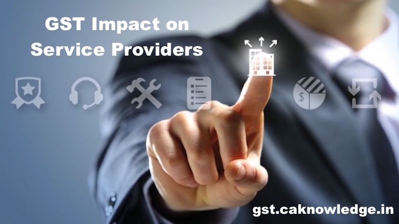 GST Impact on Service Providers