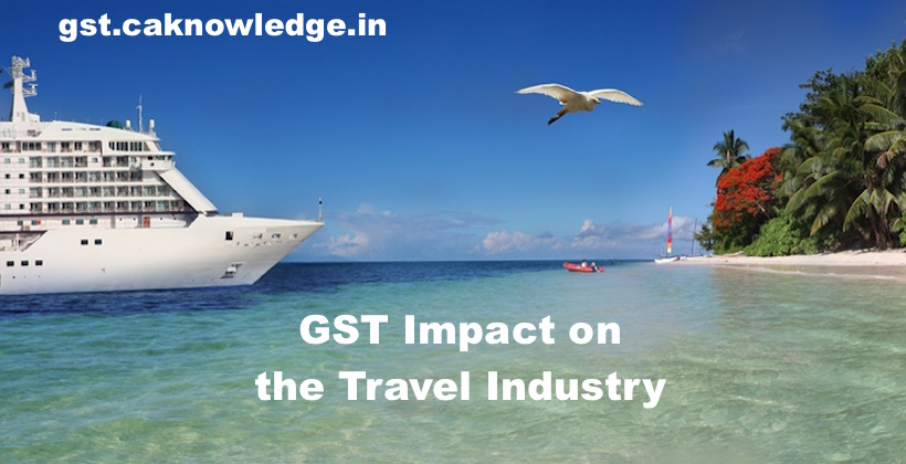 GST Impact on the Travel Industry