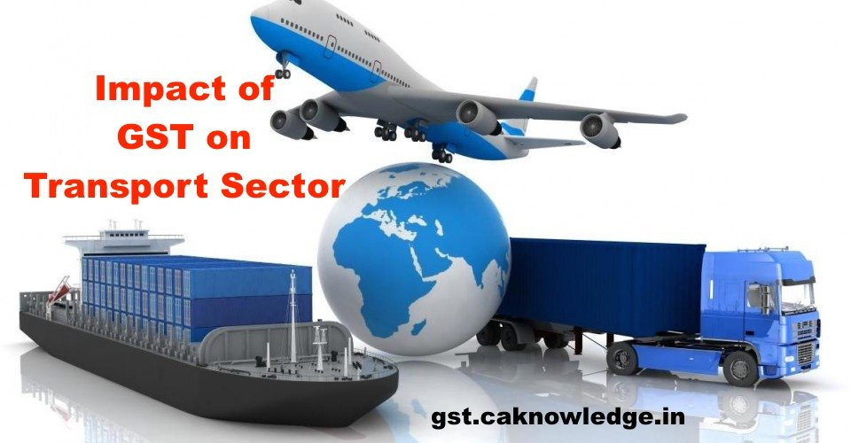 Impact of GST on Transport Sector